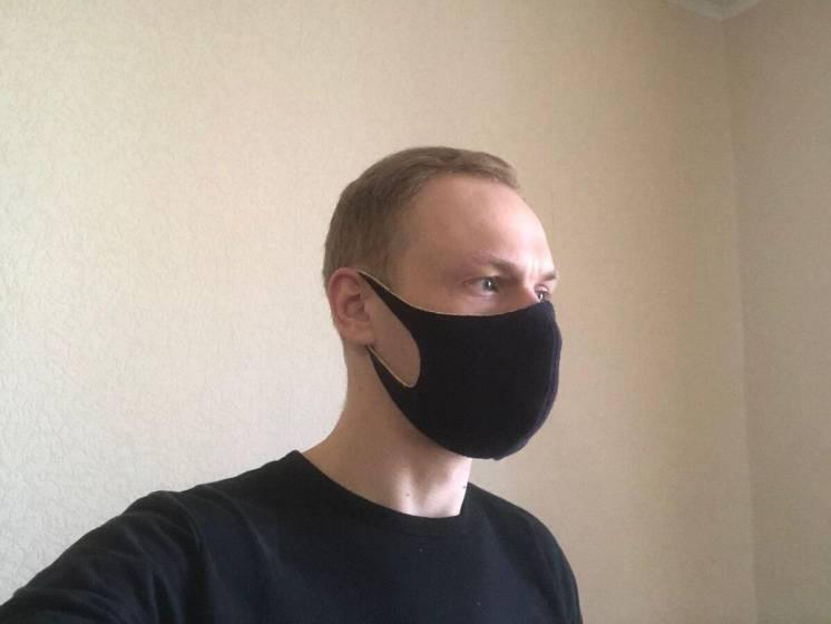 Многоразовая защитная маска питта из неопрена м. Харьковская