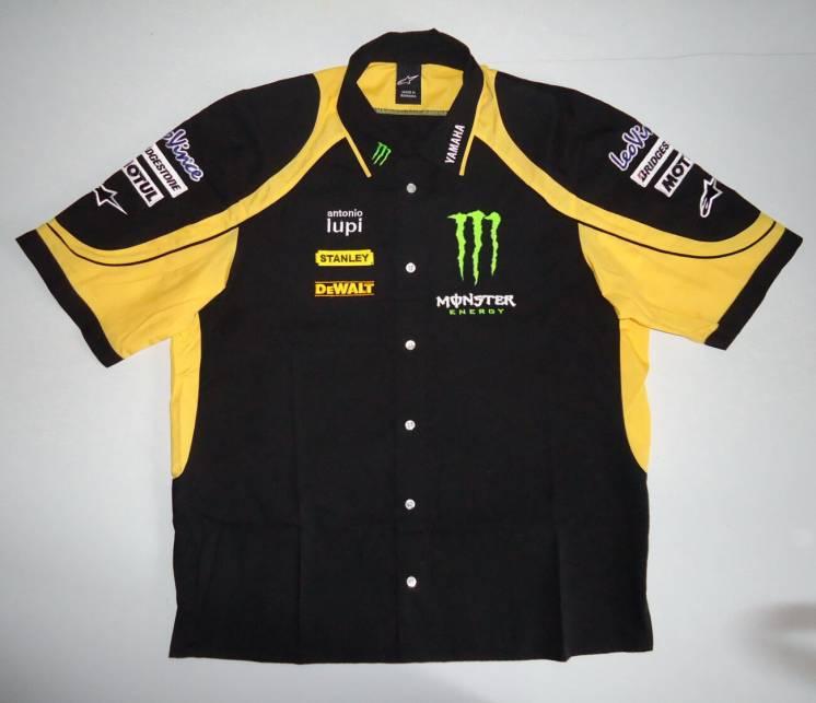 Alpinestars мото моторубашка Yamaha MotoGP Monster оригинал XL