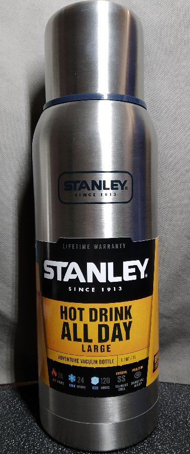 Термос Stanley Vacuum Bottle Adventure Stainless Steel 1L
