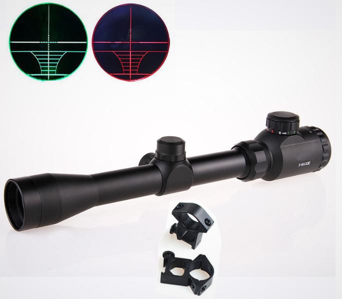 Оптический прицел Bushnell 3-9х32 EG с подсветкой сетки Новый прицел