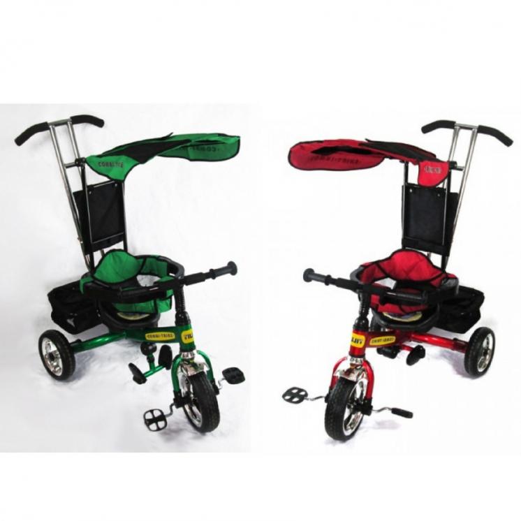 Детский трёхколёсный велосипед. Детские велосипеды