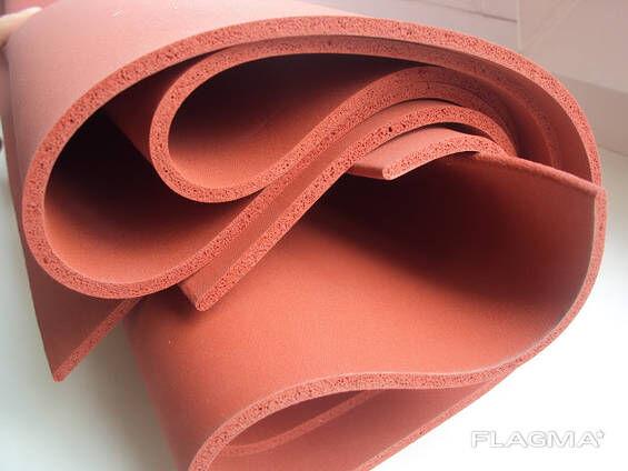 Резина силиконовая пористая 10мм 360грн