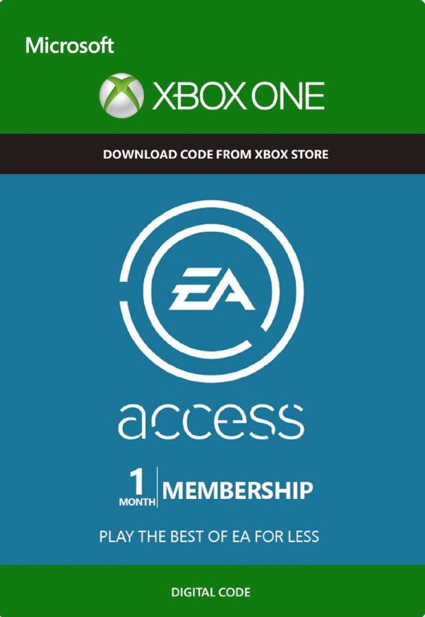 Подписка на 1 месяц EA Access xbox