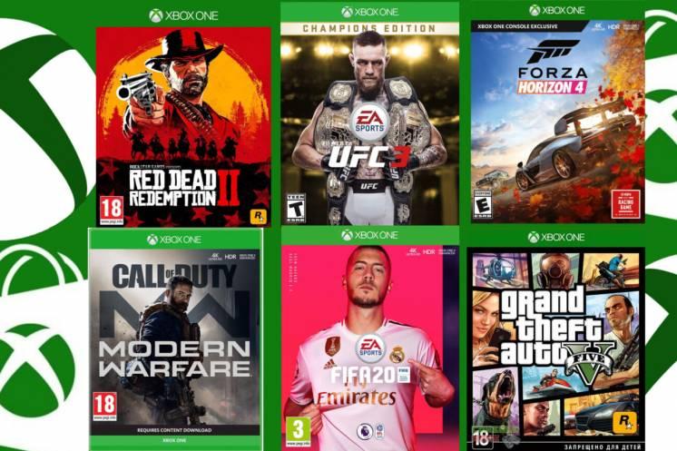 Mortal Kombat 11, FIFA 20 RDR2 Metro Red Hitman 2, Assasins Creed xbox