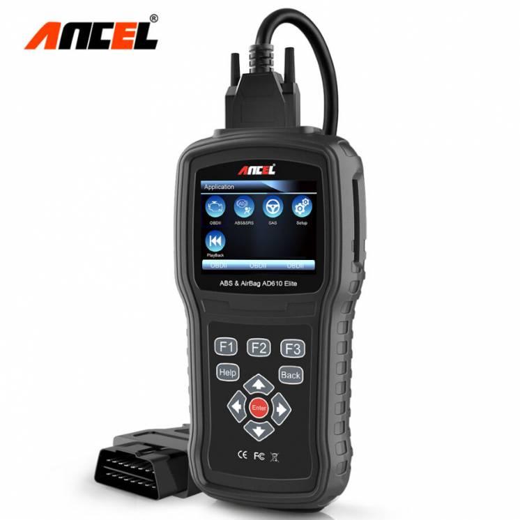 Профессиональный диагностический автосканер Ancel AD610