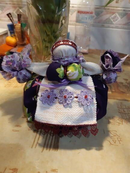 Кукла мотанка оберег Травница