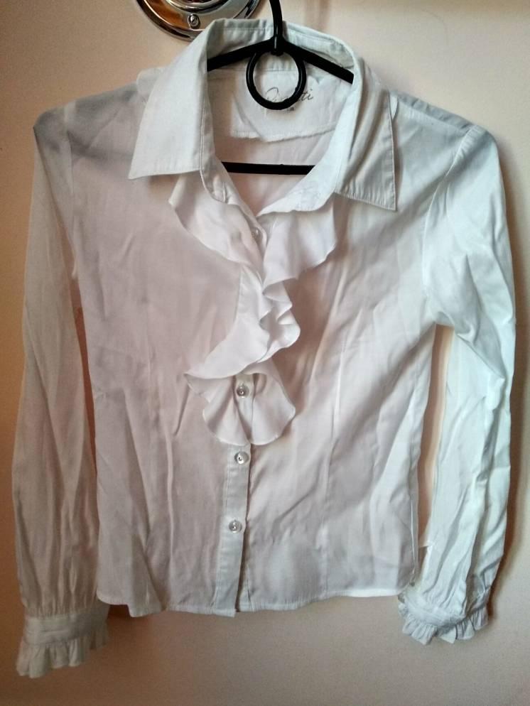 Блузка белая Pinetti б/у