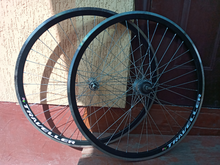 Вело колёса комплект 26 28 заднее втулка планетарная - Shimano-3C41