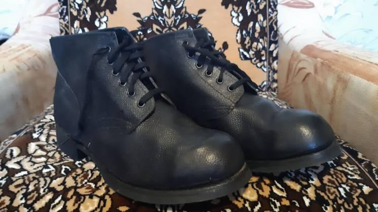 Рабочие ботинки керзовые