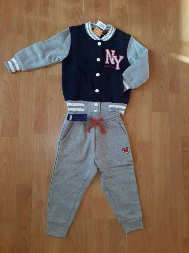 Бомбер и брюки Lupilu, Pepperts кофта штаны с лёгким начёсом