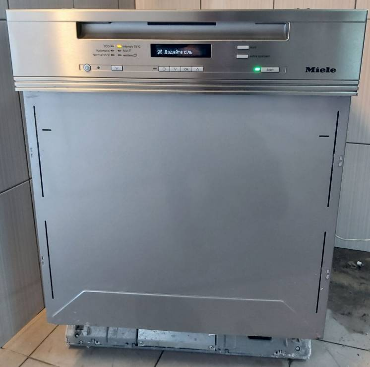 Посудомийна машина Miele G 6300 SCi EcoLine три лотки А+++ укр меню