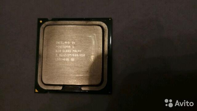 Процессор Intel D 830