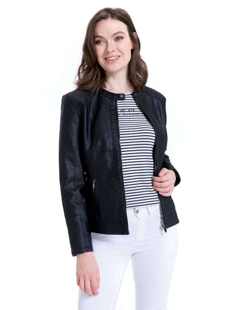 Куртка женская новая кожаная Турция S L XL XXL XXXL 44 48 50 52 54 56