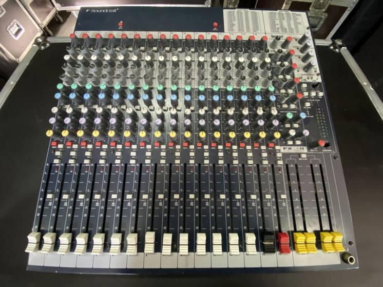 Продам аналоговый микшер Soundcraft FX16ii
