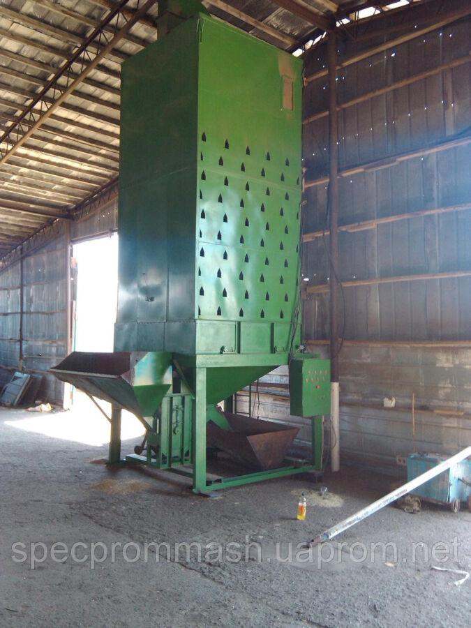 Зерносушилки шахтные ЗСШ