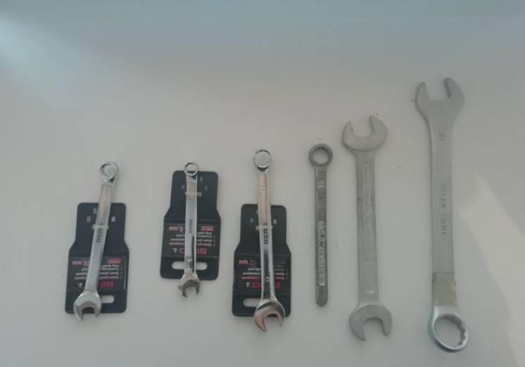 Ключи разных размеров