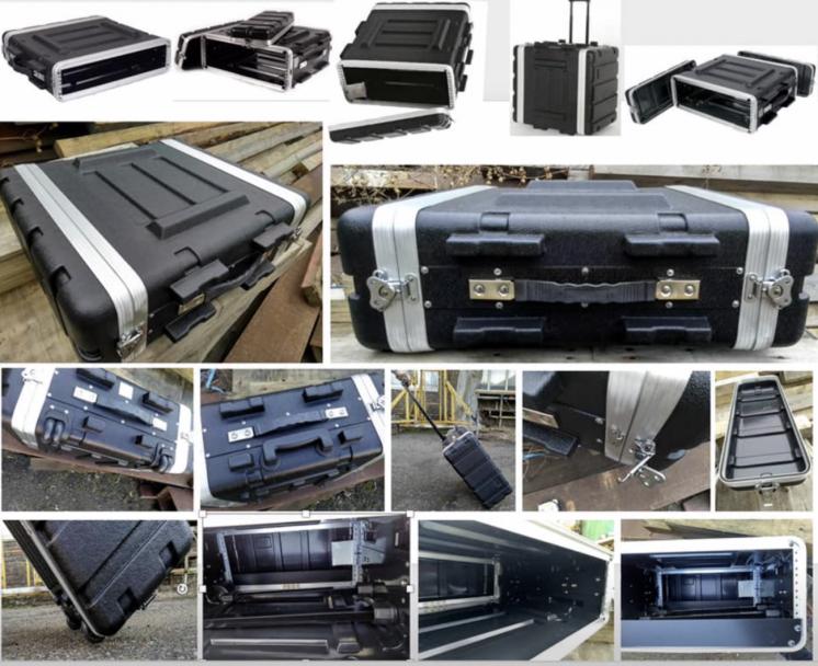 Продам НОВЫЕ кейсы ABS пластик для 19'' оборудования