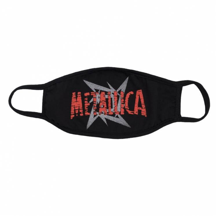 Metallica (Маска Многоразовая) 2020. Ткань. 12см/24см. Новая.