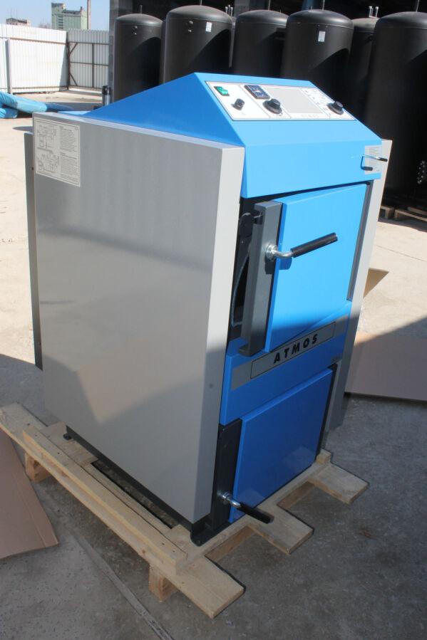 Котел угольно-дровяный газифицируемый пиролизный Atmos C 18 S