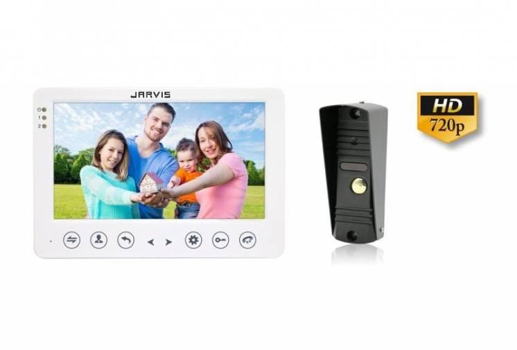 AHD 720P Видео домофон с записью видео по движению Jarvis JS-7WKit-HD