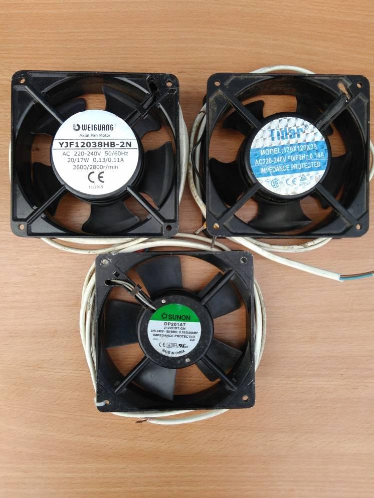 Вентилятор осевой для охлаждения оборудования