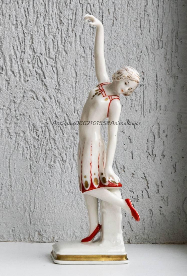Фарфоровая статуэтка Karl Ens фарфор Танец DANCING LADY Германия стиль