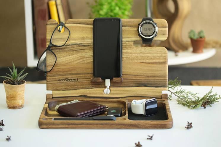 Подставка органайзер для смартфона планшета для дома офиса на стол