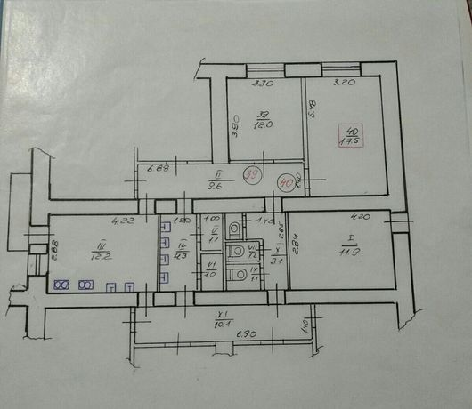 Продам 2-х комнатную квартиру гостинного типа