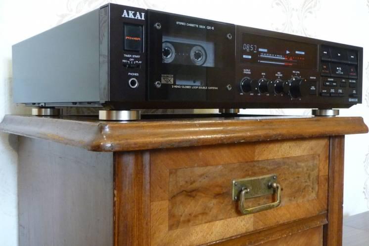 Коллекционная кассетная дека от Легендарного бренда =AKAI model GX-6=
