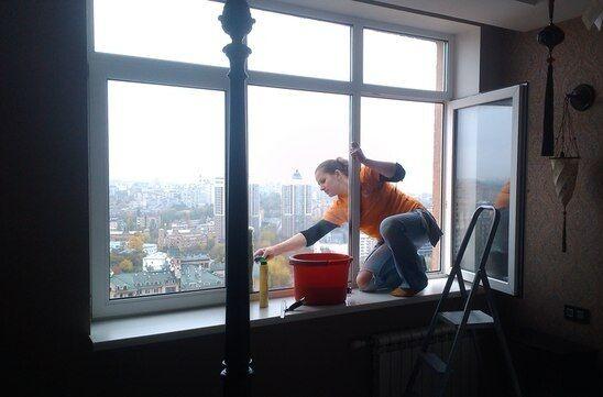 Мойка окон, балконов, витрин - Киев