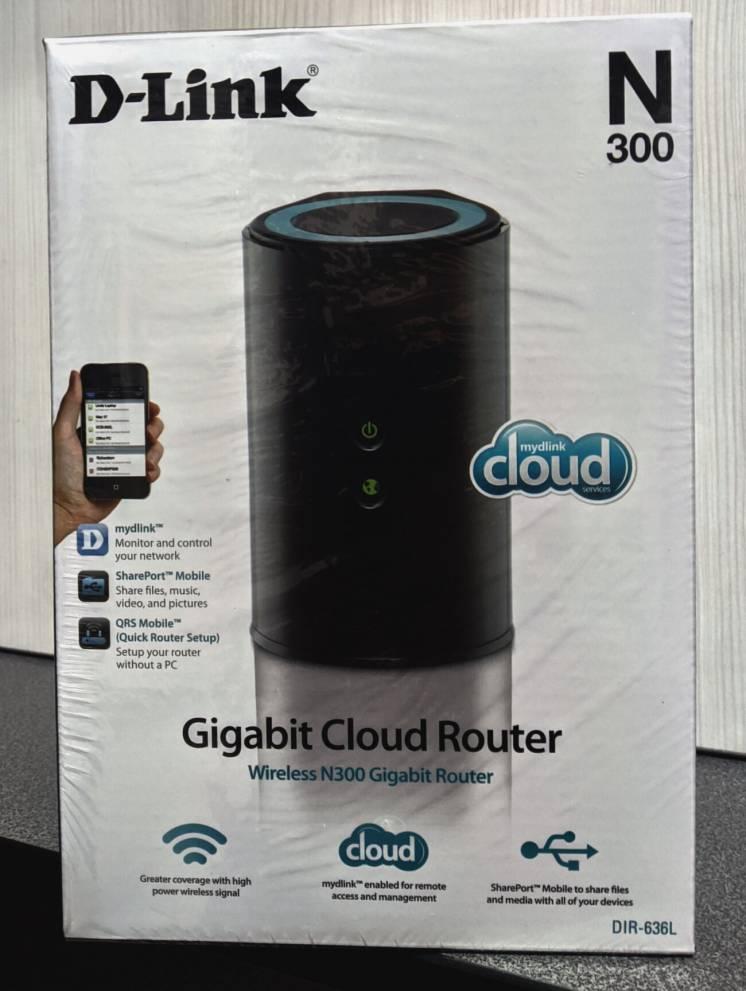 Роутер WIFI D-Link DIR-636L