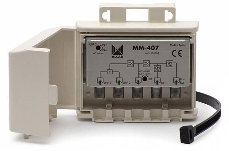 Сумматор (диплексор) Т2 сигнала MM-407