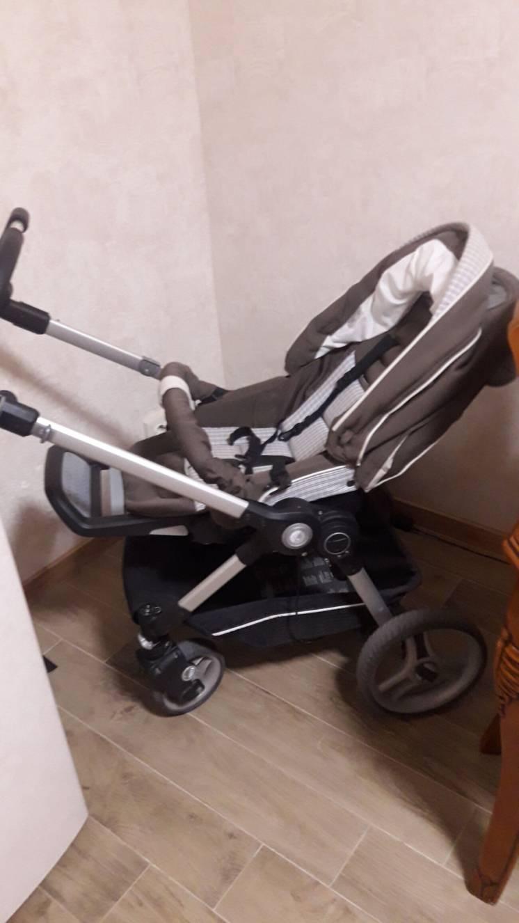 Детская коляска 2 в 1 teutonia be you!