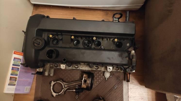 Разобранный двигатель Ford Fusion 2.5 2015 бензин
