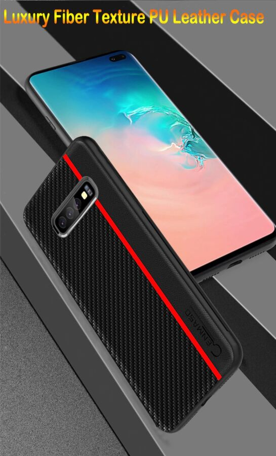 Чохол cenmaso для Samsung Galaxy A50 Black