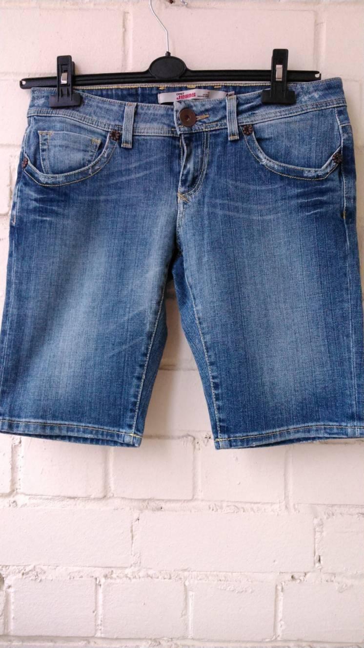 Джинсовые шорты. Фирма Only jeans. Размер EUR 40.