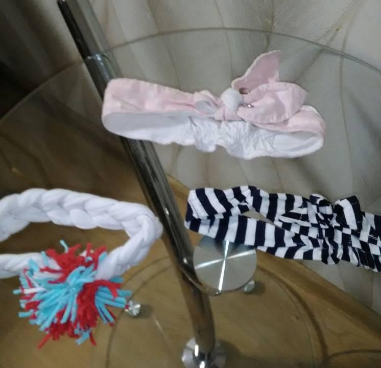 Панамки,платочки и повязки для девочки на лето от 30 грн до 65 грн