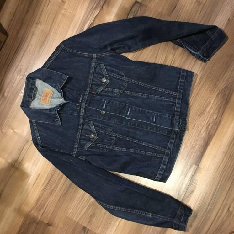 Levi's L женская джинсовая куртка жакет