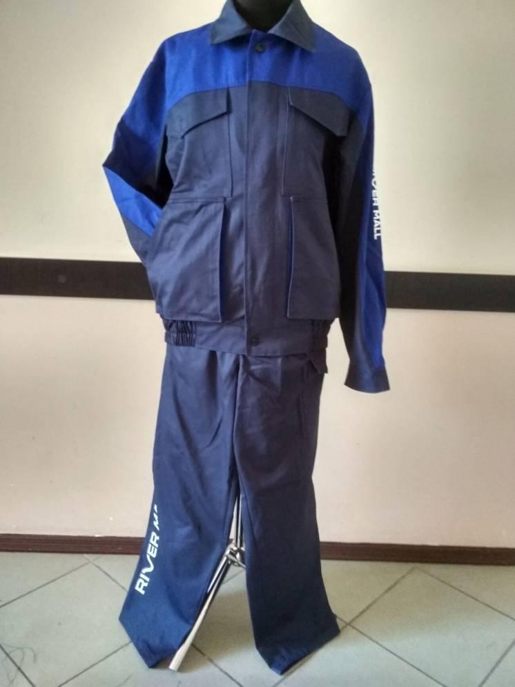 Пошив рабочих костюмов с полукомбинезоном, спецодежда оптом