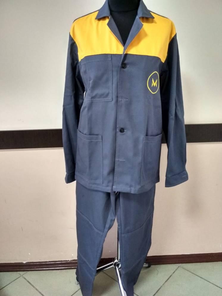 Пошив рабочей формы, спецодежды, полукомбинезон куртка