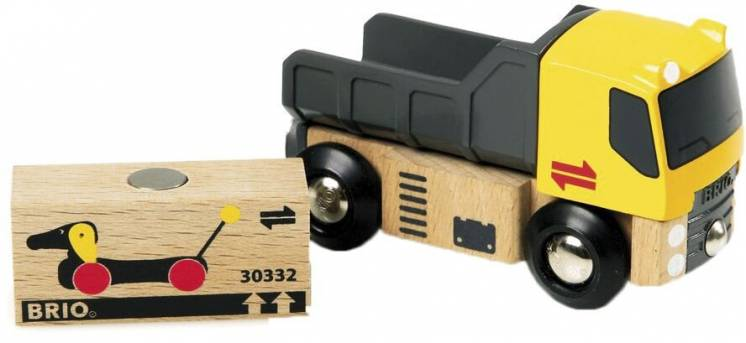 Деревянная железная дорога Brio (Брио) 33527 Грузовой автомобиль