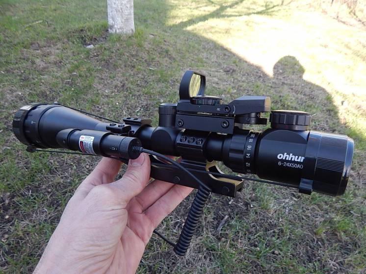 Оптический прицел ohhunt 6-24x50 AOEG
