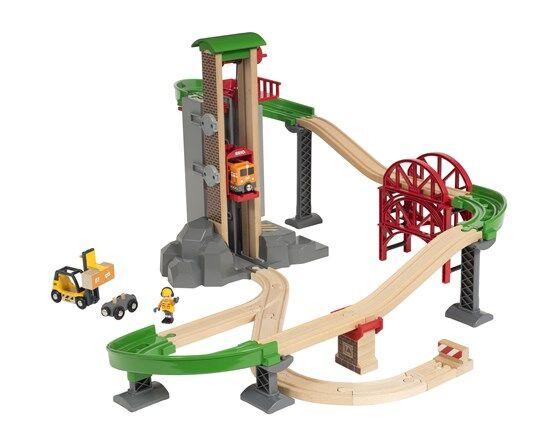 Brio (Брио) 33887 деревянная железная дорога Логистическая станция