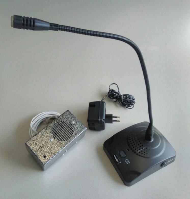 Система громкой связи для весовых пунктов элеваторов, КХП - СММ2020