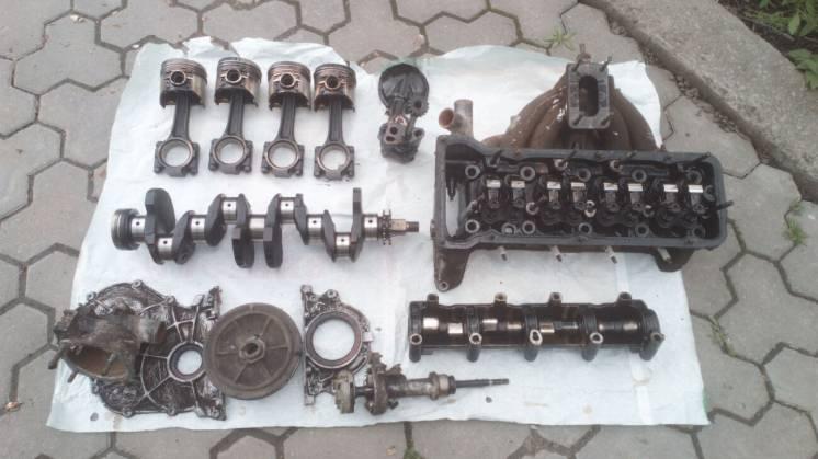 Двигатель ВАЗ 21011 или целиком или подетально