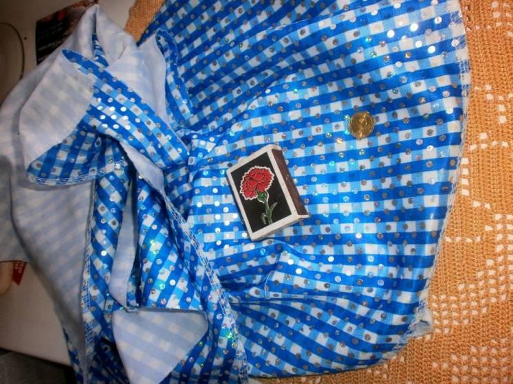 Ткань трикотаж с пайетками , нарядная. For Hand Made