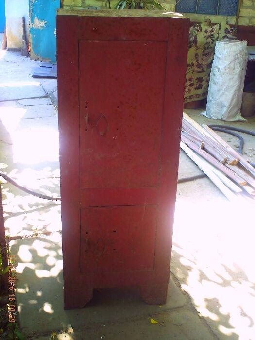 Продам сейф металлический 2-х секционный