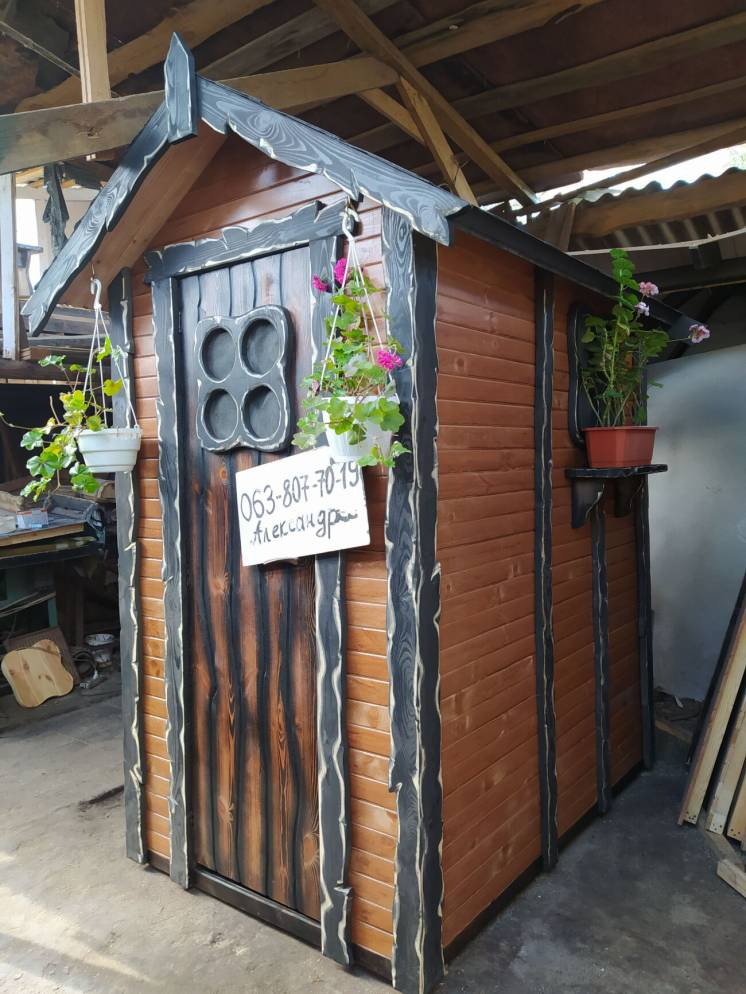 ДУШЕВАЯ для дачи ( дачный летний душ из дерева, деревянный туалет )