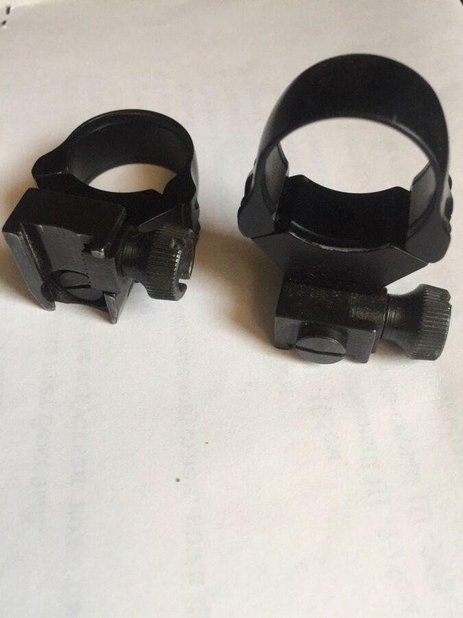 Лекосъемные кольца-крепления GFM. 26 мм, на планку