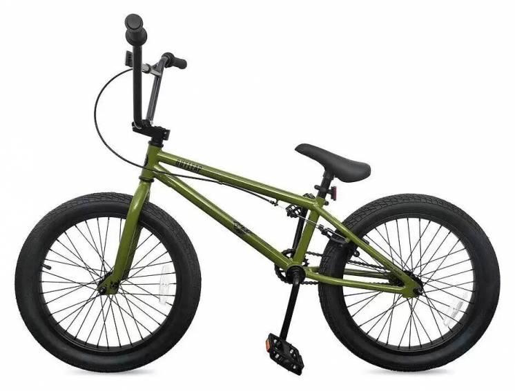 Велосипед BMX Outleap Clash 2020, оливковый (Киев)